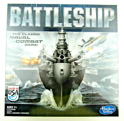2012 Battleship The Classic Naval Combat Strategy Board Game Hasbro Games Sealed