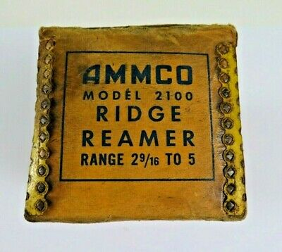 "Vintage Used Ammco Model 2100 Ridge Reamer 2-9/16"" to 5"" - Not Tested"