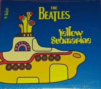 THE BEATLES - Yellow Submarine Soundtrack 2012 Remastered Stereo CD! NEW SEALED!