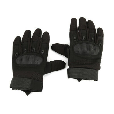 XL Outdoor Gloves Army Tactical Full Finger Military Hard Knuckle Glove Shooting
