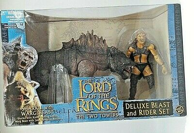 The Lord Of The Rings Sharku With Warg Deluxe Beast & Rider Set