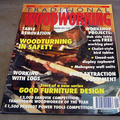 Traditional Woodworking  January 1993   £2.95 Post Free