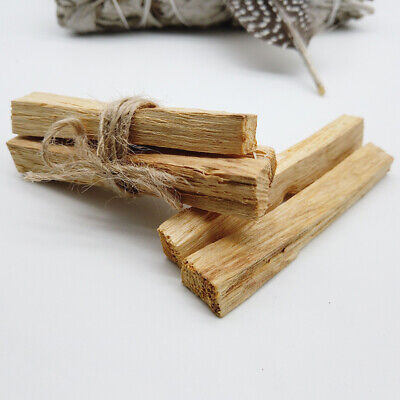 5 stick 3~4inches Long Palo Santo Holy Wood Incense Meditation,Yoga, Massage