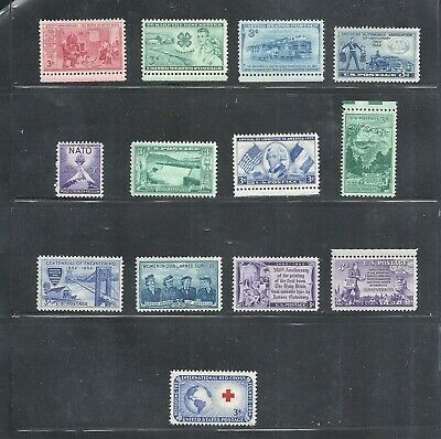 1952 - Commemorative Year Set - US Mint NH Stamps - Lowest Prices