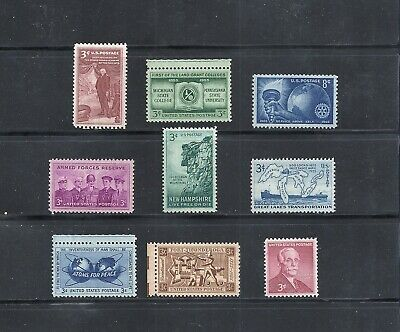 1955 - Commemorative Year Set - US Mint NH Stamps - Lowest Prices