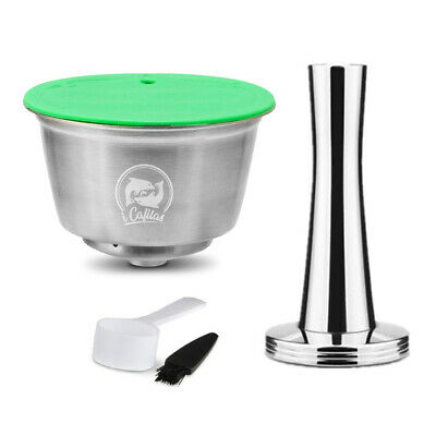 Refillable Coffee Capsule Cup For Dolce Gusto Nescafe Reusable Filter Pod Ground