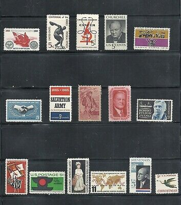 1965 - Commemorative Year Set - US Mint NH Stamps - Lowest Prices
