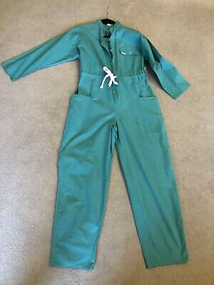 True Vintage Retro 1980s/90s Boiler Suit / Jumpsuit Size 10 12