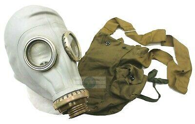 RUSSIAN ARMY GP5 GAS MASK  with BAG   * NEW OLD STOCK *  UNISSUED * GENUINE *
