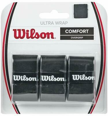 Wilson Ultra Wrap Tennis Racket Over Grip 3 Pieces Free & Fast Delivery