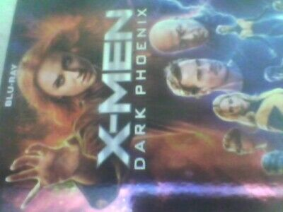 X-Men: Dark Phoenix (Blu-ray) James McAvoy, new sealed no slip case free post