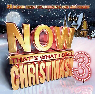 Now That's What I Call Christmas Vol 3 CD 2 Disc Sinatra Crosby Dion Rihanna Nat