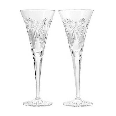 Waterford Crystal Universal Wishes Set of 2 (4 oz) Toasting Flutes