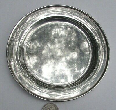 """Antique Baltimore Silversmiths Sterling Silver Childs Plate-6""""-4.55 Ounces-NR"""