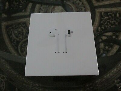 Apple AirPods with Charging Case  White NEW NIB Auth. Genuine Sealed box