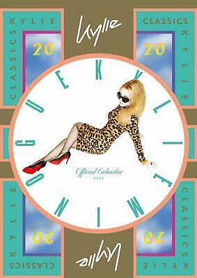 BLACK FRIDAY SALE - Official Kylie Minogue 2020 A3 Wall Calendar New Sealed