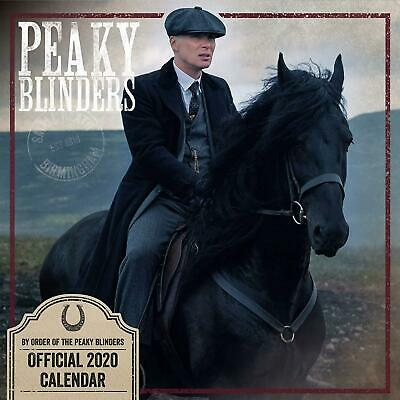 BLACK FRIDAY SALE - Official Peaky Blinders 2020 Square Wall Calendar New Sealed
