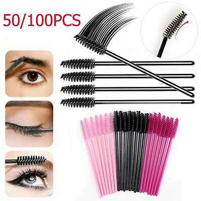Disposable Mascara Wands Eyelash Brushes Kit Lash Extension Spoolie Applicator