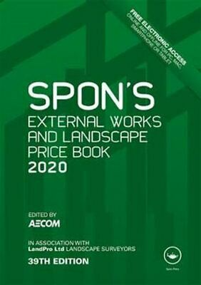Spon's External Works and Landscape Price Book 2020 by AECOM 9780367271060