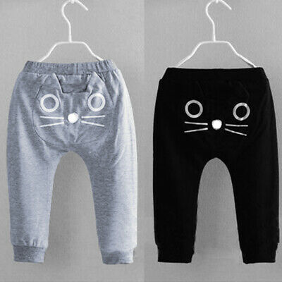 FOR Kids Baby Boys Girls Harem Pants Cotton Trousers Toddler Casual HOT Leggings