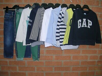 GAP M&S H&M etc Boys Bundle Jeans Tops Joggers Jumpers Jacket Age 2-3 98cm