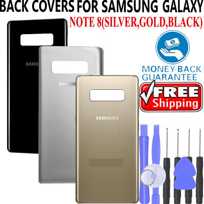 OEM Battery Glass Back Door Cover Replacement For Samsung Galaxy Note 8 Note 5