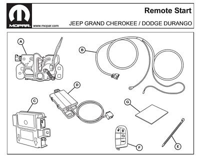 11-13 DODGE DURANGO New Remote Start Complete Kit Mopar ... on yugo starter diagram, jeep liberty transmission solenoid, f150 starter diagram, saturn starter diagram, truck starter diagram, mini starter diagram, mitsubishi starter diagram, automotive starter diagram, isuzu starter diagram, gmc starter diagram, sterling starter diagram, gm starter diagram, 2005 grand cherokee starter location diagram, cadillac starter diagram, toyota starter diagram, jeep patriot oil filter location, john deere starter diagram, dodge journey starter diagram, ford ranger starter diagram, camaro starter diagram,