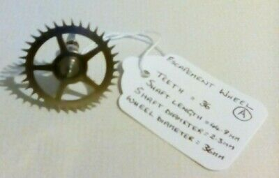 Clock escapement wheel/cog for vintage/antique clock movements