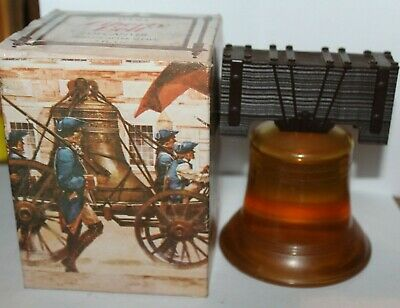 Avon LIBERTY BELL Decanter Bottle 5 fl.oz of Tribute After Shave NIB