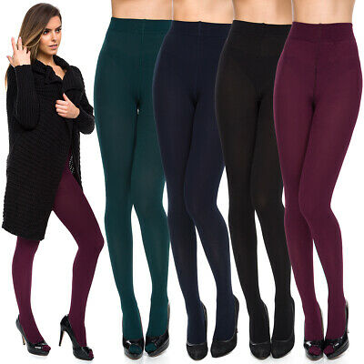 Womens NEW Thermal Winter Tights Warm Thick Secured Pantyhose with Fleece SE968