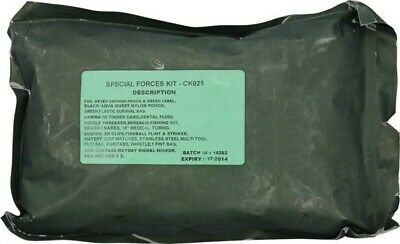 Bushcraft BUS028 Special Forces Survival Kit All Weather Pouch
