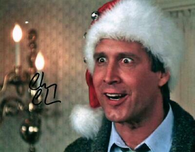 Chevy Chase Lampoons Christmas Vacation Signed 8x10 Autographed Photo with COA