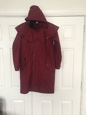 Ladies Cotton Traders Size Small Hooded Fully Lined Winter Coat