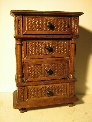 French Antique doll furniture buffet