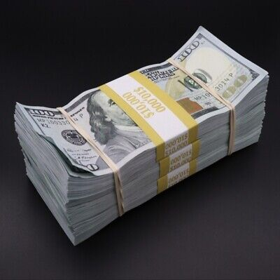 Prop Money $30,000 Aged Replica Money for Movies, Videos, Learning And More!