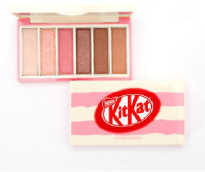 ETUDE HOUSE x KITKAT Play Color Eyes Kit Eyeshadow Palette Strawberry Tiramisu