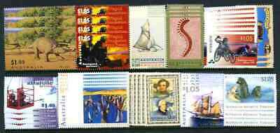 $2.00 Stamp Combinations Mint with full gum x 100 Face Value $200.00 Tax Invoice