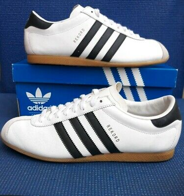 VTG 2003 Adidas REKORD retro leather originals....uk size 9.5