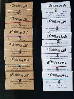 Wholesale * special order for Hannah * Job Lot * A Christmas Wish Bracelet *
