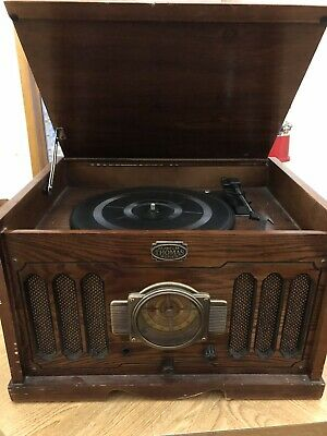 Thomas museum Series Am Fm Radio And Record Player