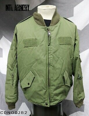 Canadian Forces OD Flight Jacket Size 7044 Air Force Canada Army