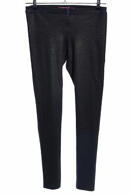 ALICE + OLIVIA Leggings braun Glanz-Optik Damen Gr. DE 36 Hose Trousers