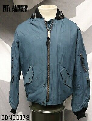 Canadian Forces Blue Pilots Jacket Size 7336 Air Force Canada Army