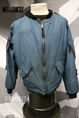 Canadian Forces Blue Pilots Jacket Size 7340 Air Force Canada Army