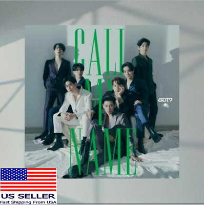 GOT7 10th MINI ALBUM CALL MY NAME [KpopMusicDepot]