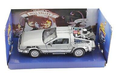 Back To The Future 2 II DMC DeLorean Time Machine 1/24 Scale Diecast Model Car