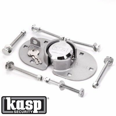 KASP RATED 10 HIGH SECURITY VAN PADLOCK & HASP + BRACKET 73mm 500 Series K50073A