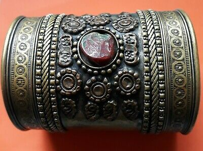 Extremely Rare Ancient Bracelet Bronze Artifact Authentic Stunning One