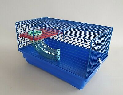 Hamster Blue Cage Transporter Mouse Gerbil Pet Animal Rodents Cages Mice Nest