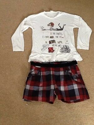 BNWT Girls  Mayoral short outfit outfit age 6 years